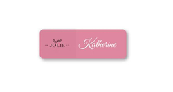 "Promo Metal Magnet Badge - NO NAME - 3"" x 1"""
