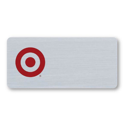 "Magnet Write-On P-Touch Plastic Name Badge - 3.25"" x 1.5"""